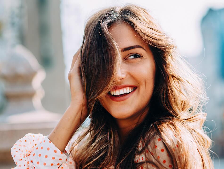 Happy Smiling Lady